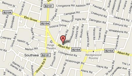 This is map showing Chelsea Garage.