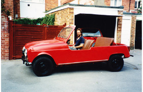 conversion of a Renault 4 car to a jeep by Chelsea Garage and Body Shop.